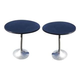 Vintage Mid-Century Saarinen Style Tables - a Pair