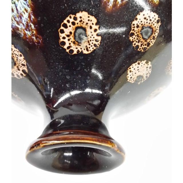 Drip Glaze Black Porcelain Bud Vase - Image 5 of 10