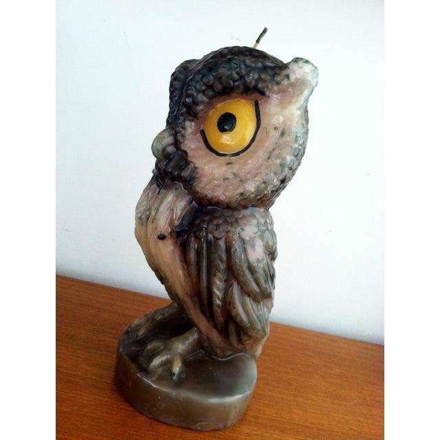 Image of Jumbo Owl Candle