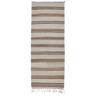 Striped Kilim, Wide Runner