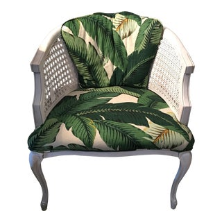 Vintage French Palm Beach Style Chair