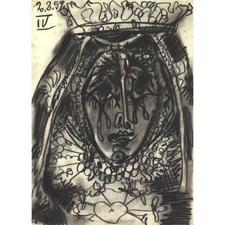 """Pablo Picasso """"La Dolorosa"""" 1959 Lithograph"""