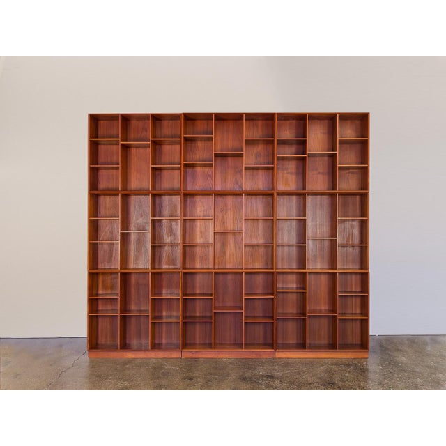 Modular Wall of Stacking Bookcases - Image 2 of 11