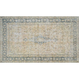 "Vintage Distressed Persian Rugs, 8'10"" x 14'11"""