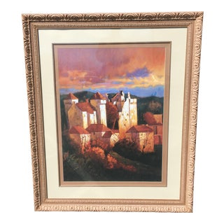 Enormous Tuscan Style Framed Print