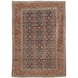 Extremely Fine Antique 19th Century Herat Rug