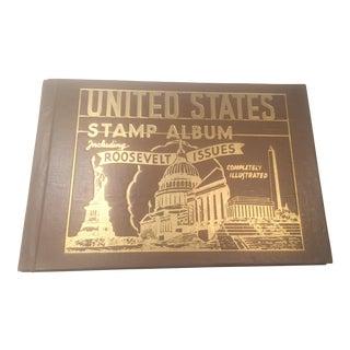 1944 United States Stamp Album