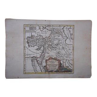 Antique 18th C. Map-Turkey-Persia