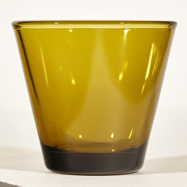 Image of Small Amber Liquor Tumblers - Set of 6
