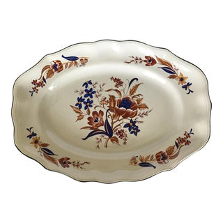 "French Faience Luneville ""Paquerette"" Serving Dish"