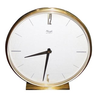 Mid-Century Table Clock by Wilhelm Kienzle for Kienzle International, 1960s