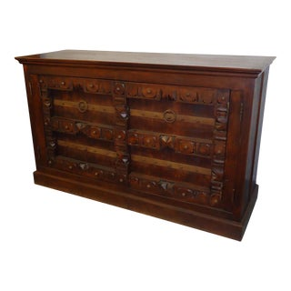 Carved Mexican Sideboard