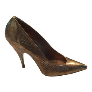Kelly Wearstler Stiletto Heel Gilt Bronze Sculpture