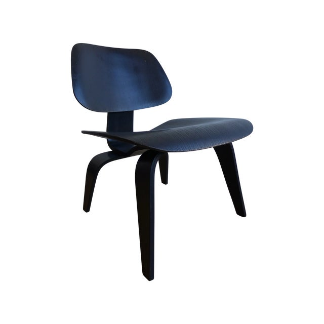 """Image of Eames """"Lounge Chair Wood"""" Chair"""