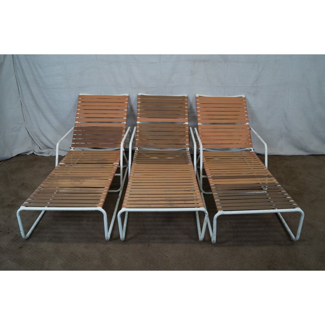 Brown Jordan Mid Century Patio Chaise Lounges - Image 2 of 10
