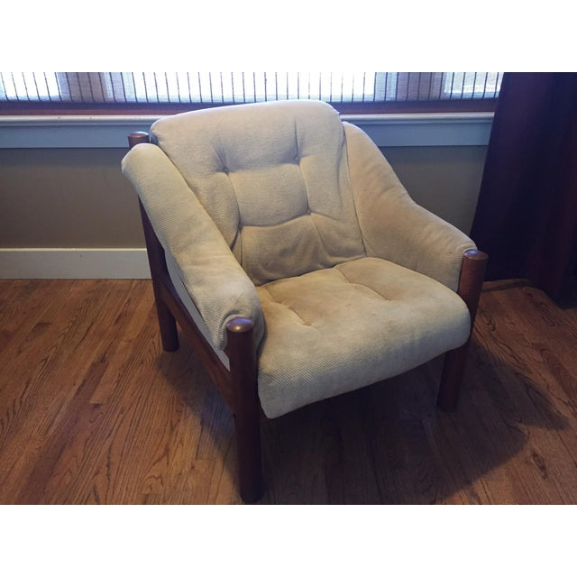 Domino Mobler Danish Modern Teak Lounge Chair (3 Available) - Image 2 of 8
