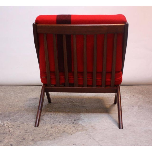 Image of Swedish 'Scissor' Chair by Folke Ohlsson for DUX