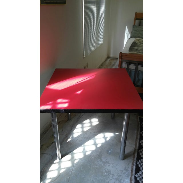 Mid-Century Square Dining Table - Image 3 of 4