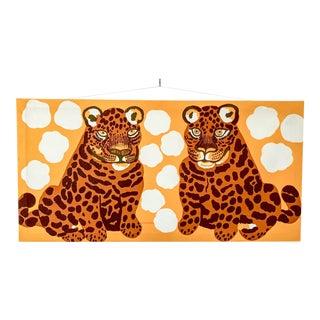 1971 Tiger Silkscreen by Marimekko