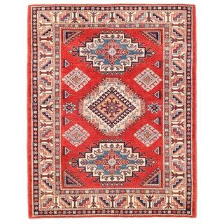 """Pasargad Kazak Wool Rug - 5' 1"""" X 6' 6"""""""