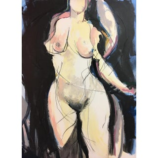 'Woman I' Contemporary Painting