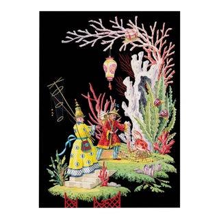 """""""Crab Baiting"""" Giclée Print"""
