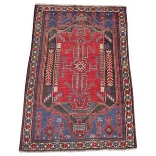 """Vintage Persian Baluch Rug - 2'11"""" x 4'6"""""""
