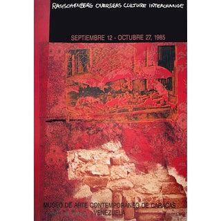 Robert Rauschenberg, Roci: Venezuela, 1985 Offset Lithograph, Signed