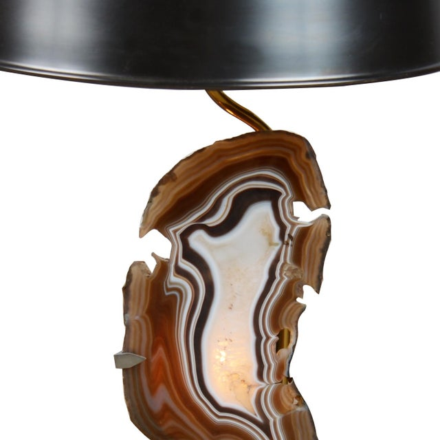 Image of Agate Table Lamp by Willy Daro