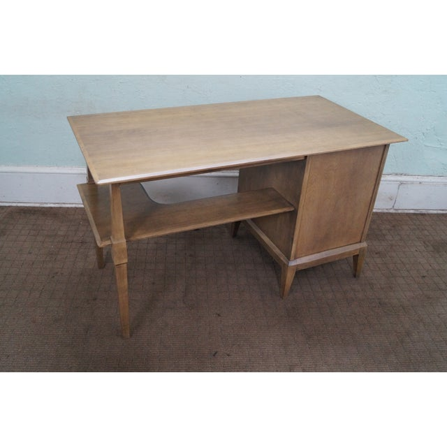 Heywood Wakefield Mid-Century Sable Desk & Chair - Image 5 of 10