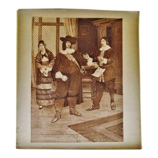 """Winfield S Lukens """"Barber of Seville Opera"""" Photogravure"""