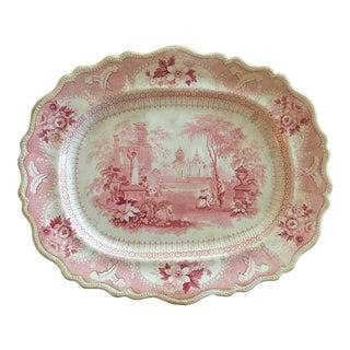 R&J Clews Staffordshire Platter