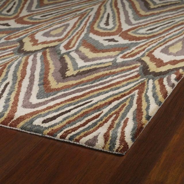 Kaleen Soho Rug, Beige, Rust & Grey - 8' x 11' - Image 2 of 2