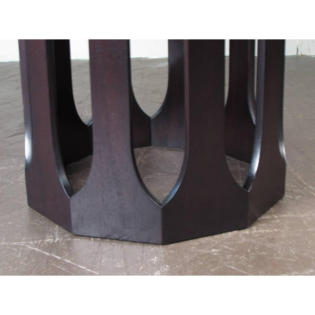 Harvey Probber Bleached Rosewood & Mahogany Dinette Table - Image 4 of 6