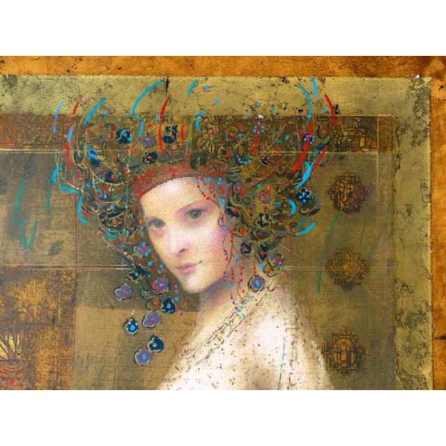 """Athena"" Serigraph by Csaba Markus - Image 2 of 8"