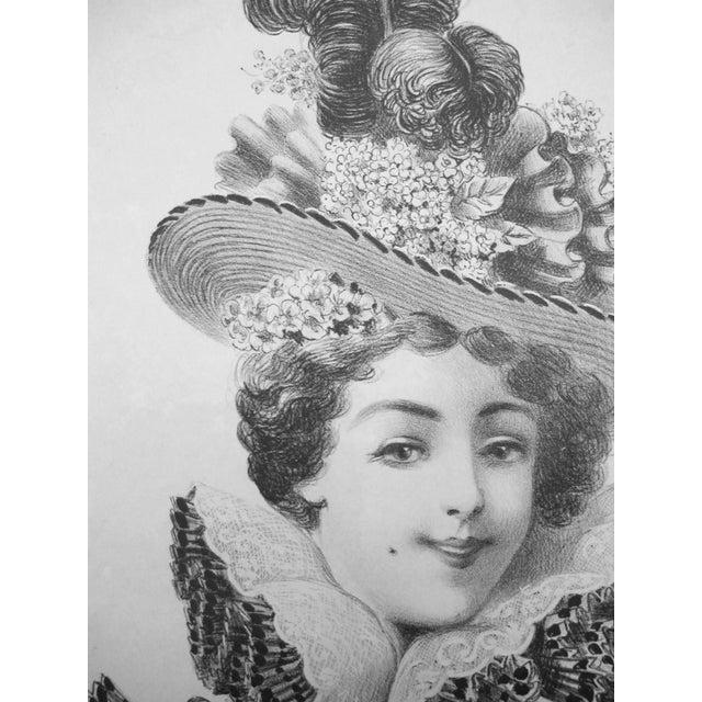 Original Vintage French Art Nouveau Poster, 1897 - Image 2 of 3