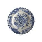 Image of English Blue & White Pheasant Plates - Set of 3