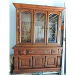 Image of Early American China Cabinet
