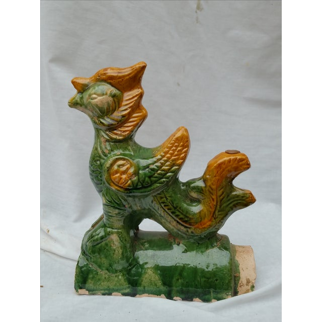 Chinese Terracotta Roof Finials - Set of 3 - Image 3 of 7