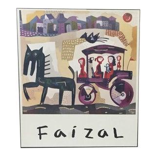 1996 Faizal Modern Art Print