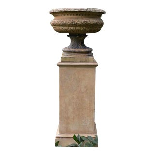 Spencer Swaffer Urn on Pedestal