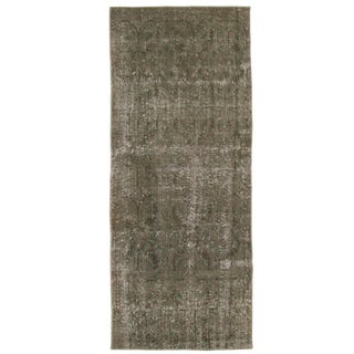 "Grey Taupe Overdyed Carpet - 2'7"" x 5'5"""
