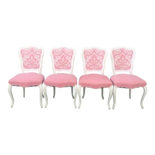 Vintage French Style Side Chairs - Set of 4