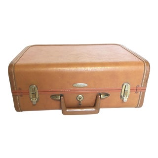 Vintage Brown Train Case