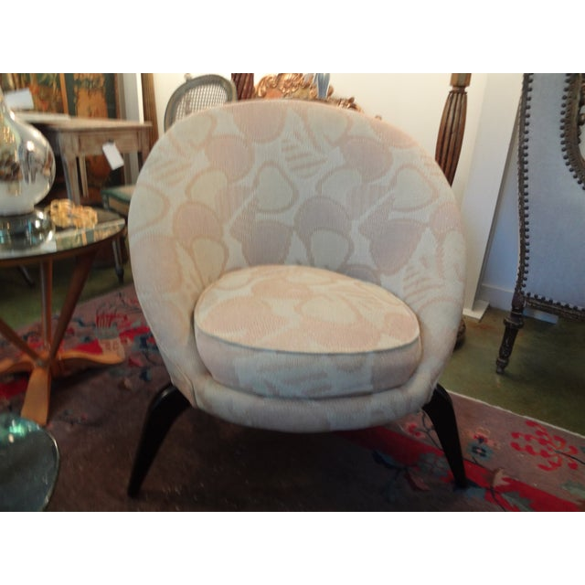 Mid-Century Jean Royère Style French Chair - Image 2 of 8