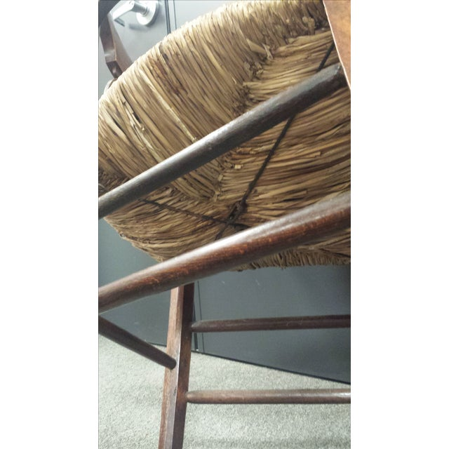 Antique French Lyre Back Armchairs - A Pair - Image 9 of 11