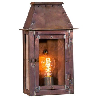 """Chambers"" American Made Indoor/Outdoor Wall Lantern"