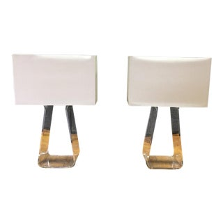 Pablo Lightings Tube Top Table Lamps - A Pair