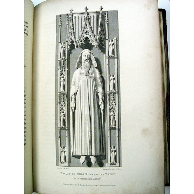 Monuments & Sepulchres of England Book, 1826 - Image 10 of 10