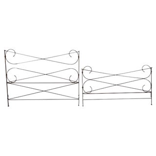 Restoration Hardware King Size Iron Bedframe